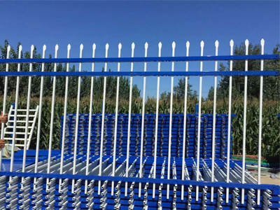 Square Steel Fence